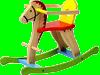 Odrážedla a houpací koně
